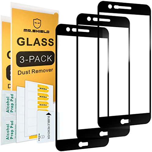[3-Pack]-Mr Shield for LG K20 Plus [Japan Tempered Glass] [9H Hardness] [Full Cover] Screen Protector with Lifetime Replacement Warranty
