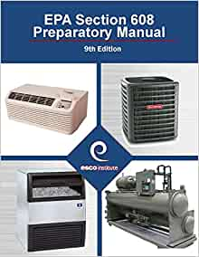 Section 608 Certification Exam Preparatory Manual 9th