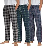 Real Essentials 3 Pack Boys Pajama Pants Super Soft