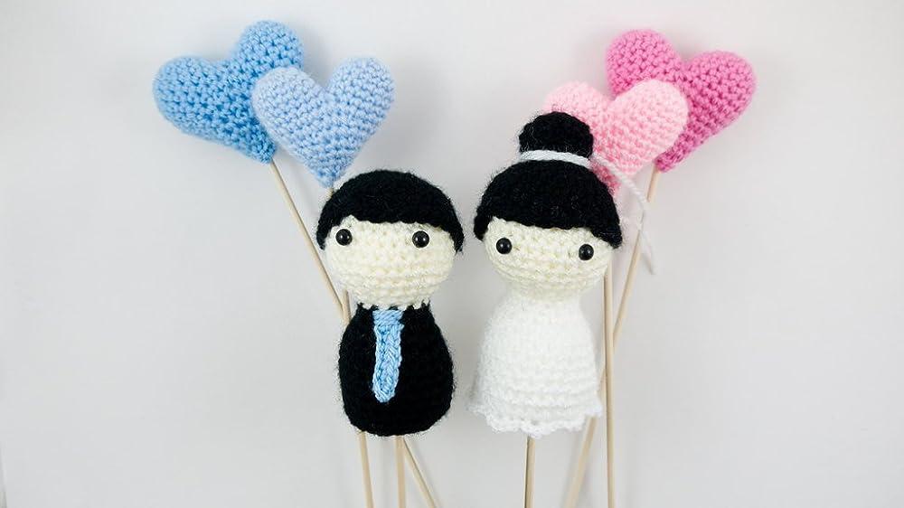 Pick Your Own Amigurumi Bride and Groom (mit Bildern) | Braut ... | 562x1000