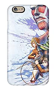 Fashionable Style Case Cover Skin For Iphone 6- Attack On Titan