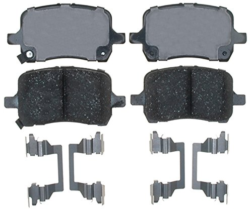 ACDelco 17D1160CH Professional Ceramic Front Disc Brake Pad Set