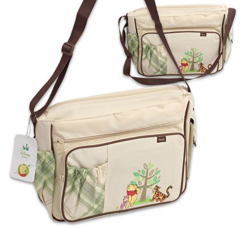 Disney Winnie the Pooh Postcard Large Diaper Bag