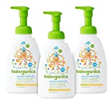 Babyganics Baby Shampoo Plus Body Wash, Fragrance Free, 16-Ounce Pump Bottle (Pack of 3)