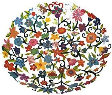 Yair Emanuel Multicolored Bowl in Hearts Laser Cut