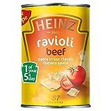 Heinz Beef Ravioli in Tomato Sauce (400g) - Pack of 6
