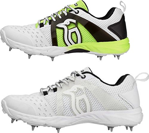 Kookaburra Cricket KCS 2000 Metal Spike Lightweight Training Shoe Size 3-13 White