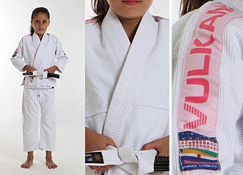 Vulkan Pro Light Jiu-Jitsu Gi ADULT & KIDS sizes+ Free Submission and Position Videos + 30 Day Comfort Guarantee + IBJJF Approved