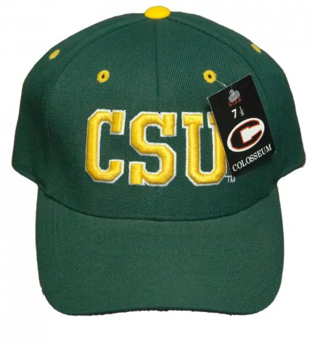 52270fca4e3 Image Unavailable. Image not available for. Color  New! Colorado State  University Rams Curved Bill Fitted Hat 3D Embroidered Cap ...