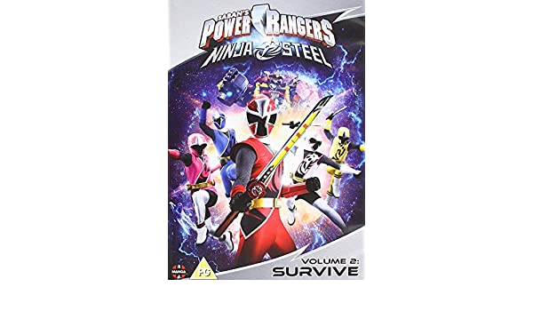 Amazon.com: Power Rangers Ninja Steel: Survive (Volume 2 ...