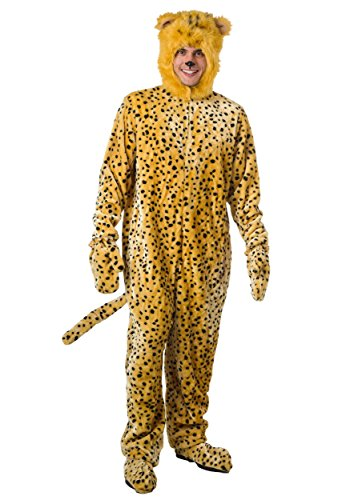 Adult Cheetah Costume X-Large - Halloween Costumes Cheetah