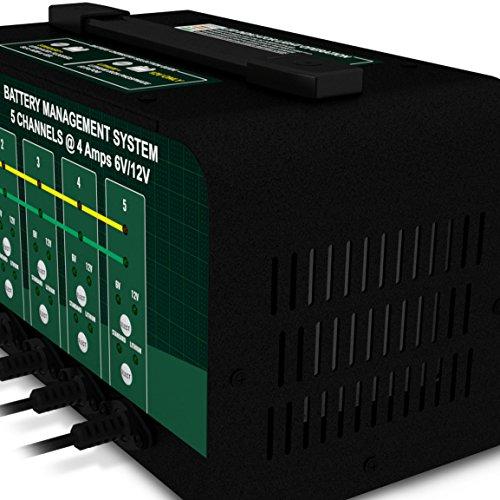 Battery Tender 5-Bank 021-0133, 4 Amp, 6V or 12V Lithium Only Selectable Commercial Battery Management System by Battery Tender (Image #2)