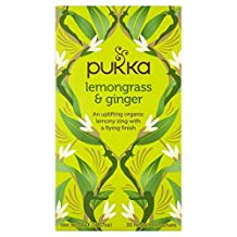 6X Pukka Lemongrass & Ginger Tea 20 per Pack