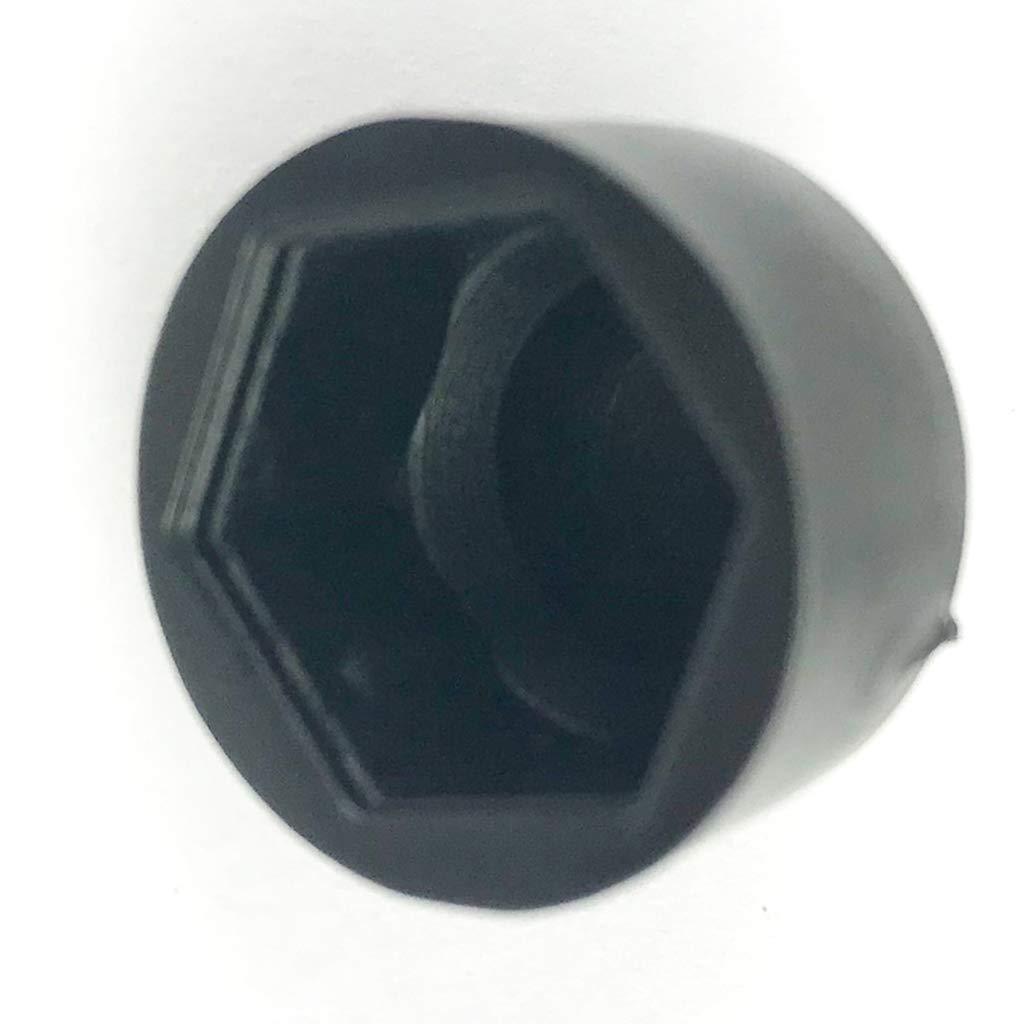 Homyl 10pcs Boulon /Écrou De Protection Couvercle Vis De Roue Hexagonal Boulon Couvre M8