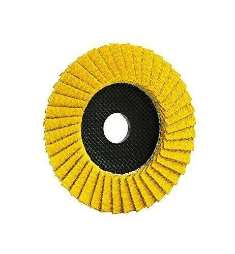 1flap disc 115mm x 22.23mm, Grit 40/60, Trimfix Professional Hellfire, Grinding Wheel Eisenblätter