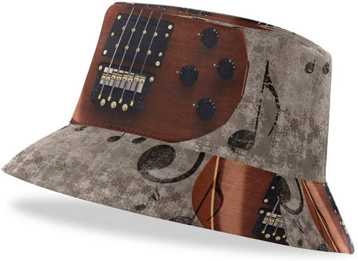 TropicalLife XIXIKO Unisex Vintage Musica Note Chitarra ...