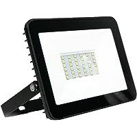 Refletor Holofote Luminária LED 50w Eco Clean Branco Frio Casa Decoração Jardim Loja