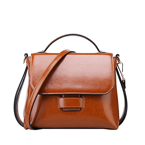 Valin, sac à bandoulière pour femme brun moyen
