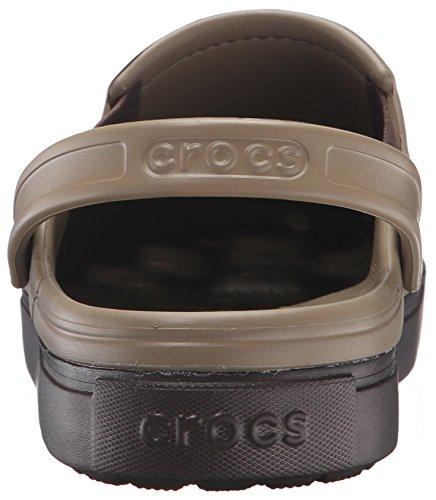 Citilane Unisex Zuecos Espresso Khaki Clog Marrón Crocs PdqZFPg