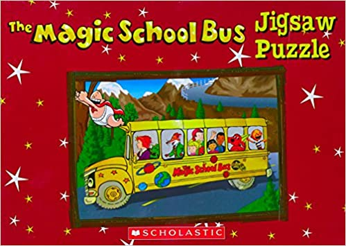 Amazon in: Buy The Magic School Bus Jigsaw Puzzle Box Book