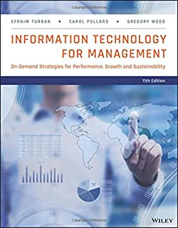 Test bank for information technology for management improving strateg….