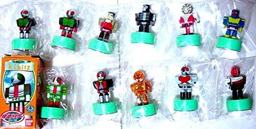 バンダイ Kibitz キビッツ 仮面ライダー1+2 ノーマル全22種+シークレット1種   B00QETQX52