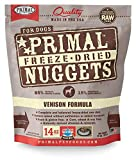 Primal Freeze Dried Venison Dog Food, 14 oz.
