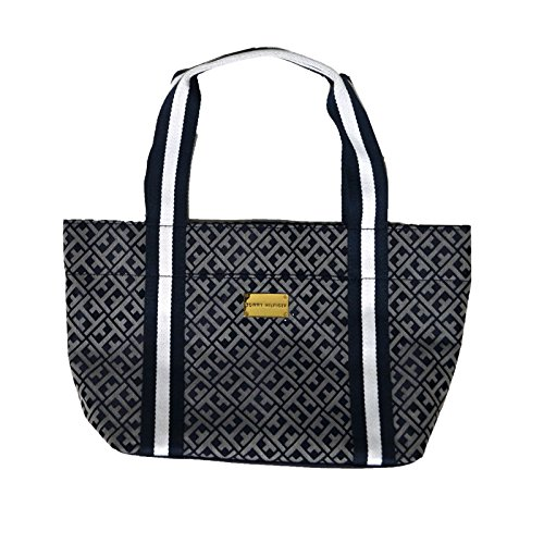 Tommy Hilfiger Small Tote Purse in Navy