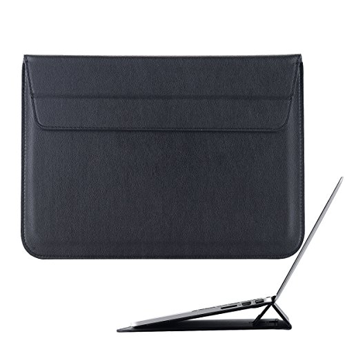 LONTECT 15.4 Inch Macbook Pro Soft PU Leather Envelope Cover