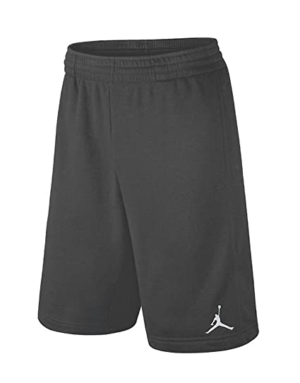 d827ed02c336 Nike Air Jordan Dri Fit Big Boys 8-20 Basketball Shorts Dark Grey (Large