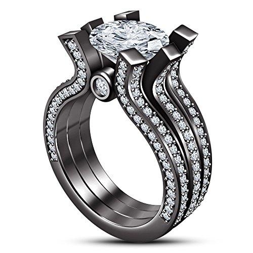 tvs-jewels-round-three-pec-sterling-silver-925-black-rhodium-plated-wedding-bridal-ring-set-withe-cu