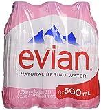 Evian, Water, 6 ct, 16.9 oz each