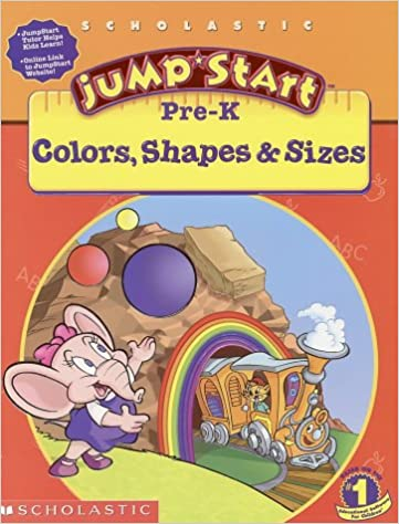Jumpstart Pre K Colors Shapes Sizes Workbook And Signs Michelle Warrence Duendes Del Sur De 0659839402006 Amazon
