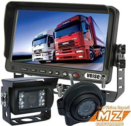 17 8 Cm Tft Lcd Monitor Rückfahrkamera Backup Kamera Elektronik