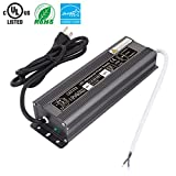 CATIYA 12V Constant Voltage 60W LED Driver Transformer, Outdoor Low Voltage Waterproof Power Supply Adapter for Led Strips