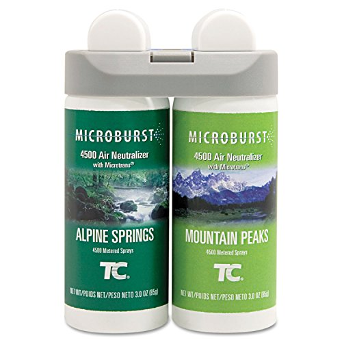 TEC3485950 - Microburst Duet Refill, Alpine Spring/mountain Peaks, 3oz, Aerosol (Rubbermaid Laptop Notebooks)