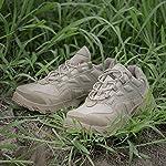 HJHHJHAB Bottes de l'armée Tactique Hommes Chaussures de Sport Basses imperméables Chaussures de randonnée en Plein air… 14