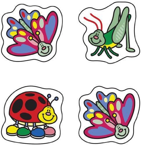 Carson Dellosa Bugs Chart Seals (2161) - Incentive Charts Bugs