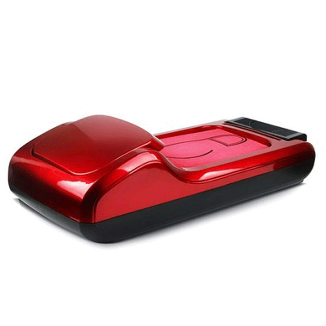 Yongyong Office Household Disposable Shoe Film Machine ABS Anti-Slip Solid Color Shoe Mold Machine to Send Three Rolls of Shoe Film 582610cm (Color : Red, Size : 582610cm)