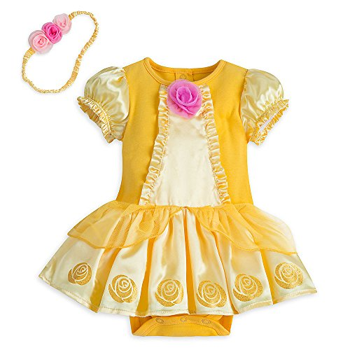 [Disney Store Beauty & the Beast Princess Belle Baby Costume (9-12M)] (Beauty And The Beast Costume Belle)