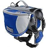 Pettom Saddle Bag Backpack for Dog, Tripper Hound Bag Travel Hiking Camping
