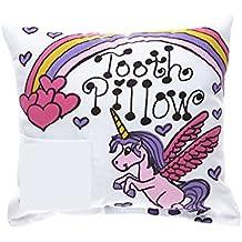 Unicorn Rainbow Tooth Fairy Pillow with Tooth Fairy Dust