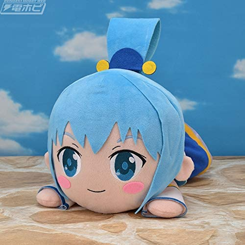 Gods Blessing on This Wonderful World Legend of Crimson Aqua Mega Jumbo Nesoberi Stuffed Plush 15.7 Sega Konosuba Movie