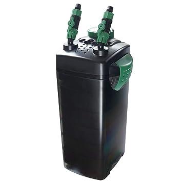 LIFUREN Filtro de pecera Cubo de Filtro Mudo Externo Purificador de Agua circulante Equipo Filtro Completo (Tamaño : 1200L/H): Amazon.es: Hogar