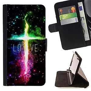 BullDog Case - FOR/HTC DESIRE 816 / - / LOVE /- Monedero de cuero de la PU Llevar cubierta de la caja con el ID Credit Card Slots Flip funda de cuer