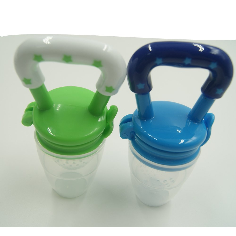 Amazon.com : Solid Baby Food Teether Soother Chupetes Processador De ...