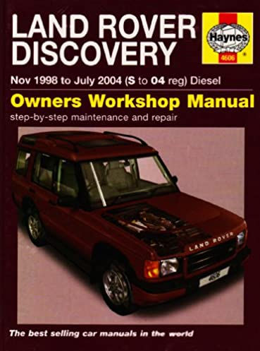 land rover discovery diesel service and repair manual 1998 to 2004 rh amazon com 1998 Land Rover Discovery Interior 1998 Land Rover Discovery SUV