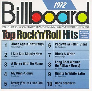various artists billboard top rock n roll hits 1972 amazon com
