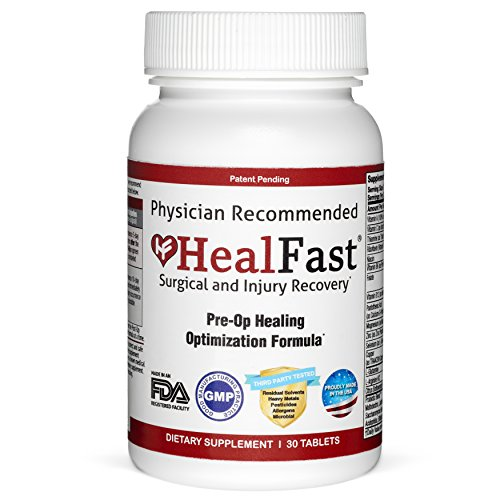 HealFast Surgical & Injury Recovery Pre-Op Healing Optimization Formula 30 Tablets ...
