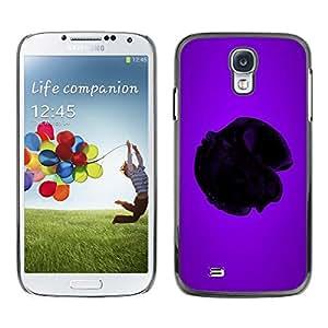 Be Good Phone Accessory // Dura Cáscara cubierta Protectora Caso Carcasa Funda de Protección para Samsung Galaxy S4 I9500 // Purple Heart